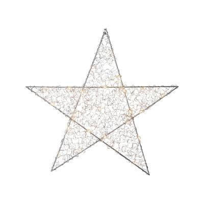Lampa GWIAZDA WISZĄCA LOOP 690-45 srebrna Star Trading