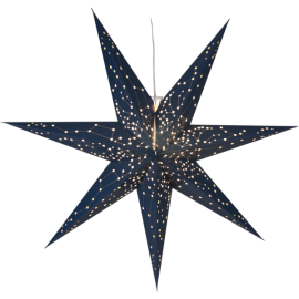 Lamp STAR HANGING PAPER GALAXY 100CM 231-71 100cm navy blue STAR TRADING