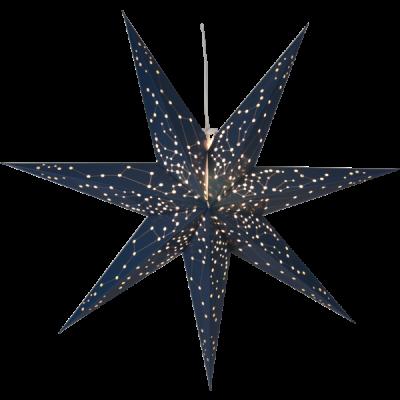 Lampa GWIAZDA WISZĄCA PAPIER GALAXY 100CM 231-71 100cm granatowa STAR TRADING