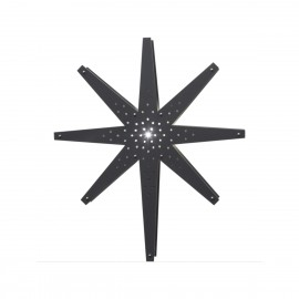 Lamp STAR HANGING WOOD TALL 268-62 70cm STAR TRADING