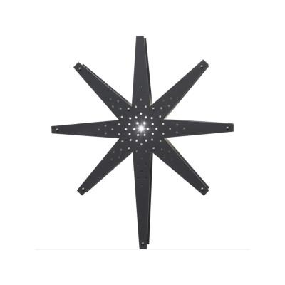 Lampa GWIAZDA WISZĄCA DREWNO TALL 268-62 70cm grafit STAR TRADING