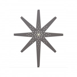 Lamp STAR HANGING WOOD TALL 268-63 70cm beige STAR TRADING