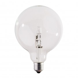 Decorative halogen eco light bulb 125mm 28W