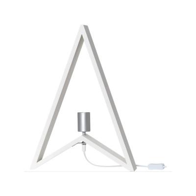 Lampa DEKORACYJNA KIL E27 256-10 25W 48cm biała STAR TRADING