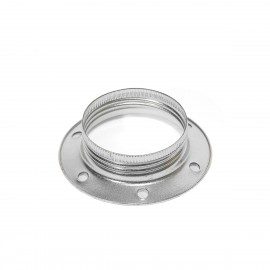 An aluminum ring for the E27 lampholder for mounting a lampshade or lampshade Kolorowe Kable