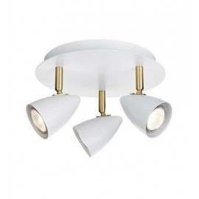 CIRO lamp Ceiling lamp 3x35W White / Gold Brushed 106319 MARKSLOJD