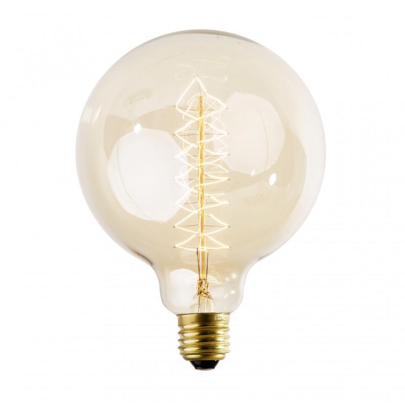 Żarnikowa żarówka dekoracyjna Spiral 125mm 60W