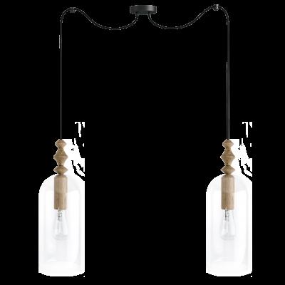 Loft Hulub 2 lampa wisząca