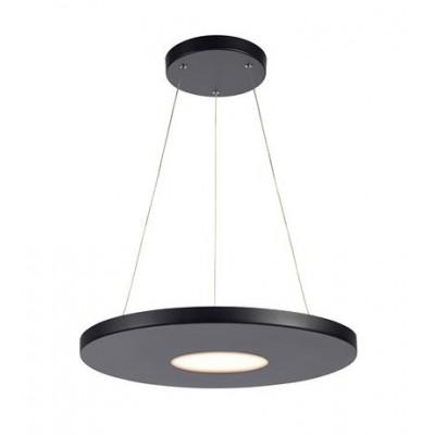Hanging lamp PLATE 18W Black 107589 MARKSLOJD
