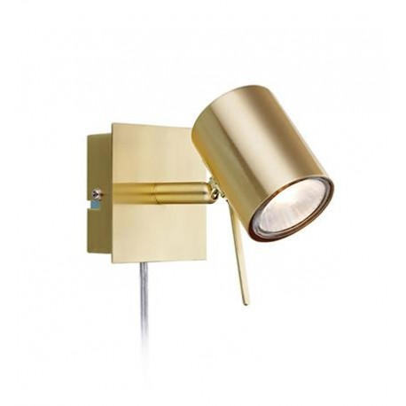 Wall lamp HYSSNA LED Brushed Gold 35W 106316 MARKSLOJD