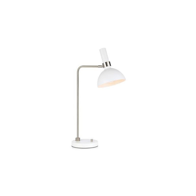 Table lamp LARRY 60W White / Steel 107502 MARKSLOJD