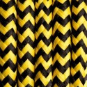 Round electric cable covered by polyester zigzag 20 honeybee 2x0.75