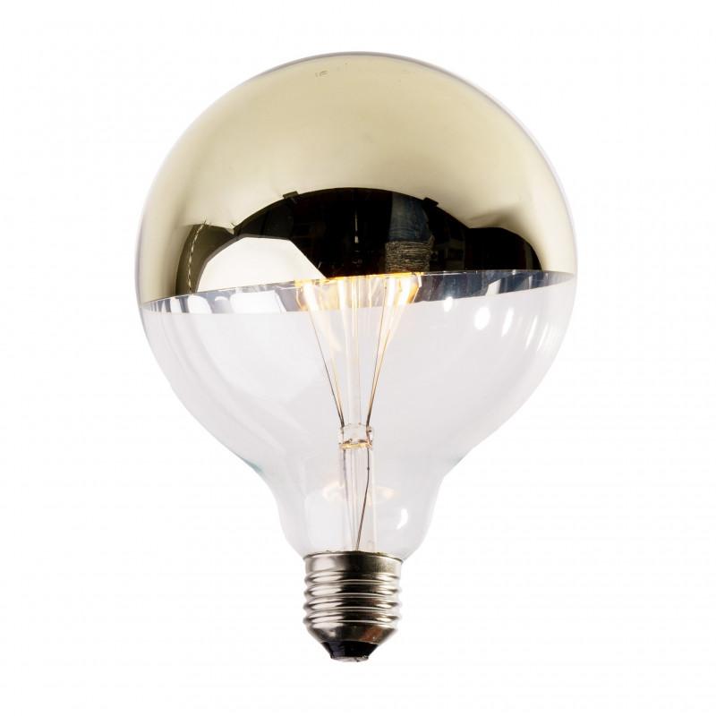 Żarówka dekoracyjna eco Vintage LED 125mm 4W Gold