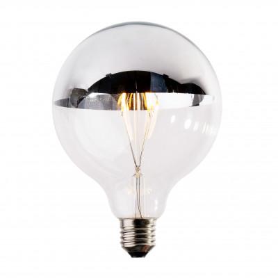 Żarówka dekoracyjna eco Vintage LED 125mm 4W Silver