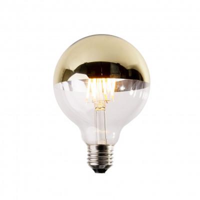 Żarówka dekoracyjna eco Vintage LED 95mm 6W Gold