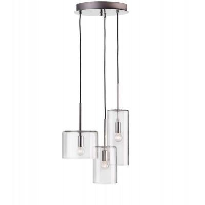 Hanging lamp ROCKFORD 3x40W CHROM 105099 MARKSLOJD