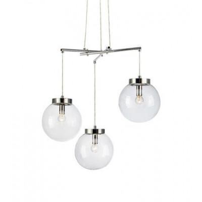 Hanging lamp SICILY 40W E14 chrome 107015 MARKSLOJD