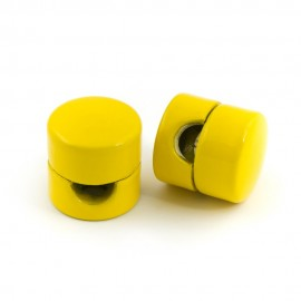 Cable holder yellow
