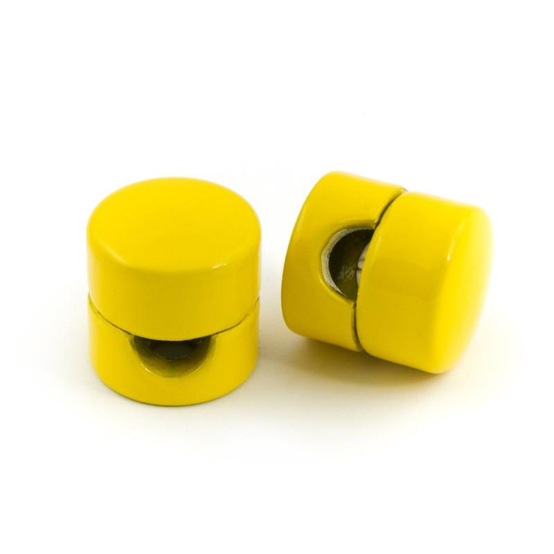 Uchwyt do kabla w kolorze żółtym