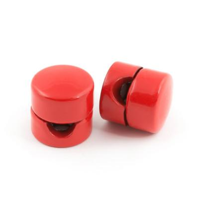 Uchwyt do kabla w kolorze czerwonym