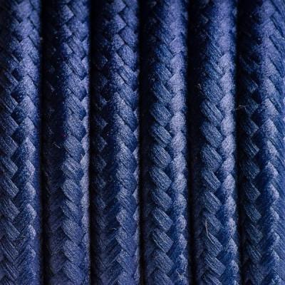 Kabel w oplocie poliestrowym 25 borówka amerykańska dwużyłowy 2x0.75
