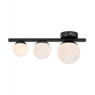 Lampa sufitowa /kinkiet PURO 20,16W G9 IP44 czarna/biała 108068 MARKSLOJD