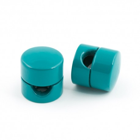 Cable holder in sea colour
