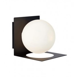 Wall lamp ZENIT 18W G9 IP44 Black / White 107495 MARKSLOJD