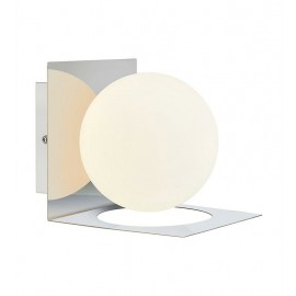 Wall lamp ZENIT 18W G9 IP44 chrome / white 107488 MARKSLOJD