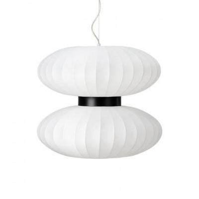 Lampa wisząca DABURU 40W E27 biała 108113 MARKSLOJD