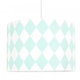 Mint Diamonds Lampshade Ø40cm