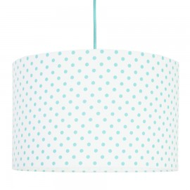 Turquoise Dots Lampshade Ø40cm