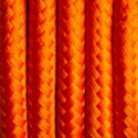 Round electric cable covered by polyester 26 Carrot feast 2x0.75