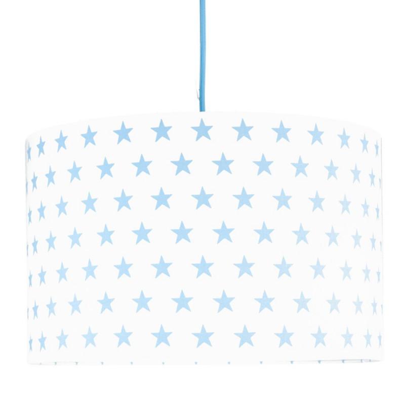 Abażur gwiazdki błękitne