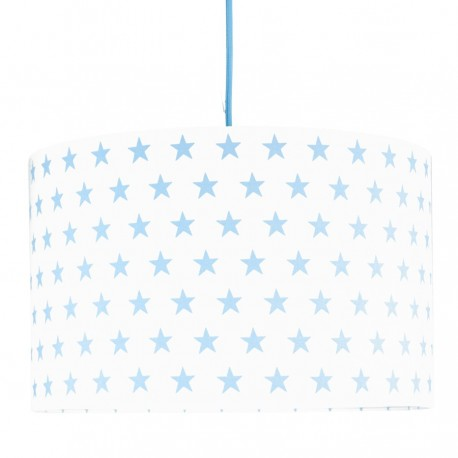 Light Blue Lampshade Ø40cm