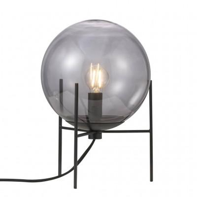 Table lamp Alton E14 15W black / smoke glass 47645047 Nordlux