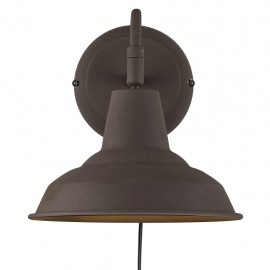 Wall lamp / Sconce Andy E27 15W brown 48491009 Nordlux