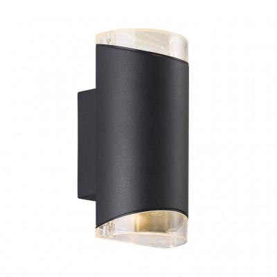 Wall lamp ARN ENKELT 28W GU10 IP44 black 45481003 Nordlux