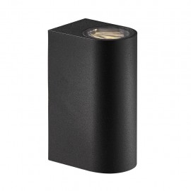 Wall lamp ASBOL 2X6,5W LED IP44 black 84971003 Nordlux