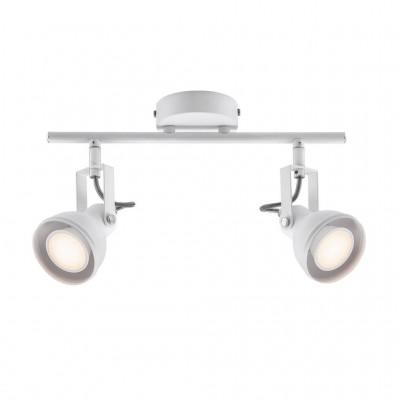 Ceiling lamp ASLAK 2-SPOT GU10 2x35W white 45730101 Nordlux