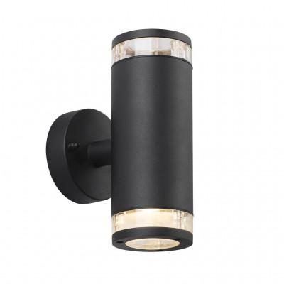 Wall lamp BIRK DBL 2x28W GU10 IP44 black 45501003 Nordlux