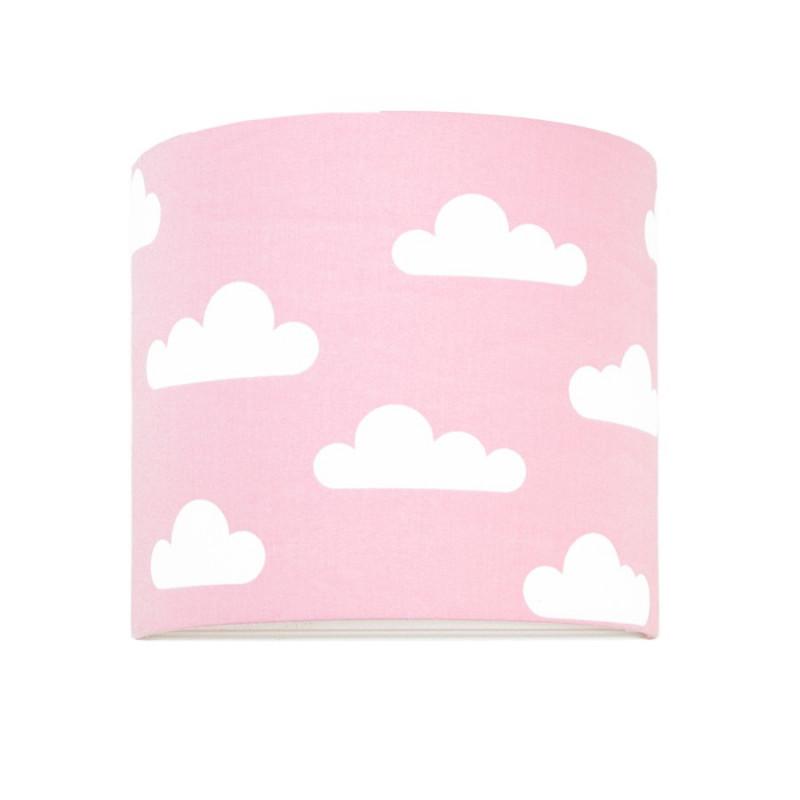 Kinkiet chmurki na różowym