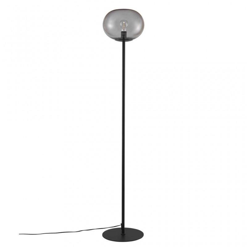 Floor lamp Alton E27 25W black / smoke glass 2010514047 Nordlux