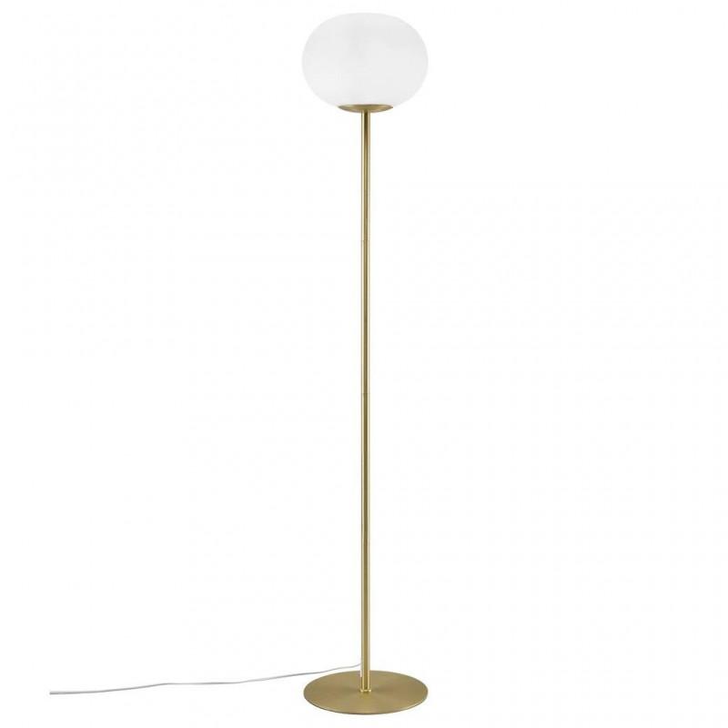 Floor lamp Alton E27 25W gold / white 2010514001 Nordlux