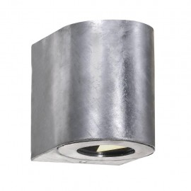 Wall lamp CANTO 2 2X6W LED IP44 galvanized 49701031 Nordlux