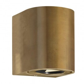 Wall lamp CANTO 2 2X6W LED IP44 brass 49701035 Nordlux