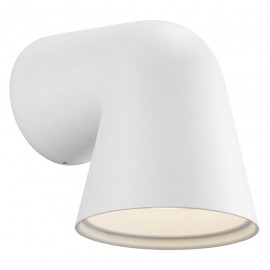 Wall lamp FRONT SINGLE 28W GU10 IP44 white 46801001 Nordlux