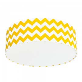 Yellow Chevron Plafond Ceiling Lamp