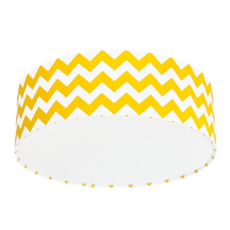 Yellow Chevron Plafond Ceiling Lamp