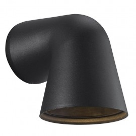 Wall lamp FRONT SINGLE 28W GU10 IP44 black 46801003 Nordlux